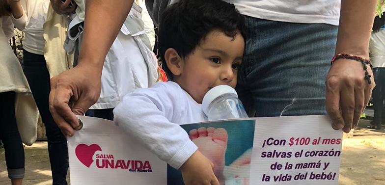 Marcha Ola Celeste México